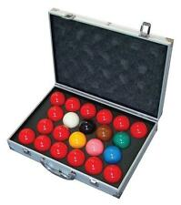 "New Aramith Tournament Champion SuperPro1G Snooker Ball set with case (2 1/16"")"