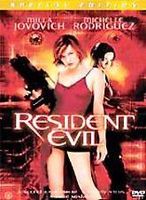 Resident Evil (DVD, 2002, Special Edition)  MILLA JOVOVICH MICHELLE RODRIGUEZ