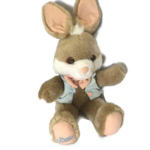 Vintage Applause 1990 Bunny Rabbit PETER COTTONTAIL Plush Stuffed Animal  Rare