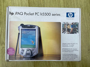 HP ipaq pocket pc H5500 Cases Charger Keyboard disks Instruction boxed complete*