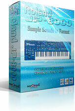 Roland JP-8000 synthesizer LIBRARY SOUNDFONTS SF2 Sample Sounds vst-store jp8000