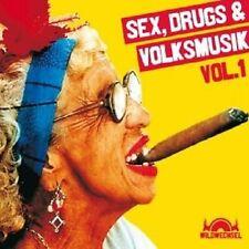 SEX DRUGS & VOLKSMUSIK MIT GANES UVM. CD NEU