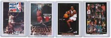 4 COUNT OF 1990s MICHAEL JORDAN STARLINE POSTER CARDS ad nike costacos