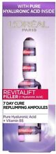 L'ORÉAL Revitalift FILLER 7 DAY CURE REPLUMPING AMPOULES PURE HYALURONIC ACID