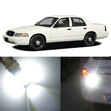 Alla Lighting Back-up Reverse Light 3157 White LED Bulbs for Ford Crown Victoria