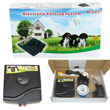 Fencing System Electronic Rechargeable Dog Training Collar For 1 Pet Waterproof