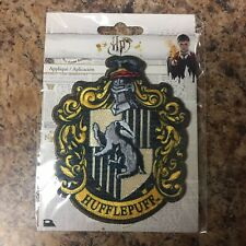 Harry Potter Hufflepuff Iron On Patch Warner Brothers J.K. Rowling Wizard