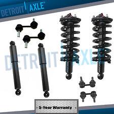 All (4) Front & Rear Complete Struts & Shock Absorber Set + (4) Sway Bar Links