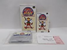 GUNMAN'S PROOF -- Boxed. Can backup data! Super famicom, SNES. Japan game. 17250