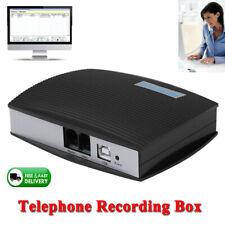 Caja de grabación de llamada de teléfono Teléfono Digital Grabadora de Voz USB PC sistema de línea