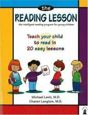 The Reading Lesson : Teach Your Child to Read in 20 Easy Lessons by Charan Langton and Michael Levin (2002, Trade Paperback, Revised edition)