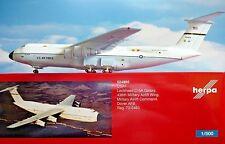 Herpa Wings 1:500 Lockheed C-5A Us. Air Force 70-0463 524995 Modellairport500