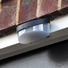 SOLAR POWER POWERED DOOR FENCE WALL LIGHTS LED OUTDOOR GARDEN SHED LIGHTING UK