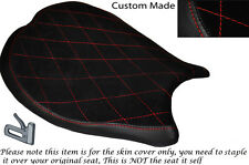 Diamante Rojo Stitch diseño personalizado se adapta a Ducati 1198 848 1098 delantera cubierta de asiento