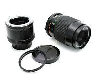 Minolta MD 100mm 1:4 Macro lens + 1:1 converter for SRT X-700 X-300 XD-5 XD-7