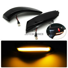 2X LED Dynamic Side Mirror Sequential Lamp For Renault Captur Kaptur Clio IV MK4