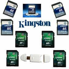 4GB 8GB 16GB 32GB 64GB SD SDXC Kingston Class 4 10 Memory Flash Card For Camera