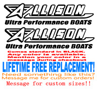 36 inch long Century boats Boat hull decals lifetime warranty 2 Set of