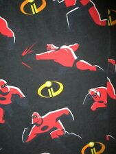 MR INCREDIBLE INCREDIBLES 2 PAJAMA PANTS Lounge Sleep Wear Bottoms Adult SMALL