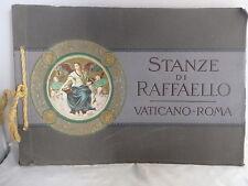 Ricordo di Roma. Vaticano - Stanze di Raffaello - Vatican - Album of 32 Views