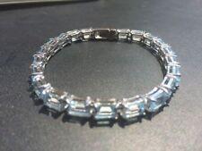 """Sterling Silver Natural 7 - 7.49"""" Fine Gemstone Bracelets"""