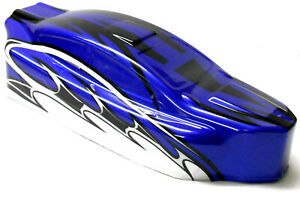 BS803-003 1/8 Scale Nitro RC Buggy Body Cover Shell Blue Uncut