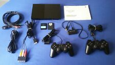 Consola Sony Play Station Slim + 2 Mandos + 2 mem cards + Adaptador HDMI