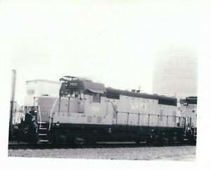 B W Photograph Webb Asset Management Railroad WAMX Train 7021 Timber Rock TX Pic