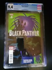 Black Panther #4 (2016)  Cover CGC 9.4