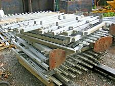 More details for wall top palisade fencing industrial approx 1400mil high with post -base plates