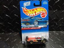 2000 Hot Wheels #30 Black Pikes Peak Tacoma w/Gold Lace Wheels Black Intake