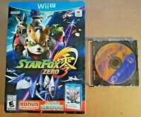 Star Fox Zero & Star Fox Adventures GameCube Wii U Compatible w/ Star Fox Guard