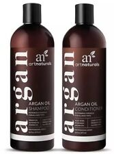 Art Naturals Organic Moroccan Argan Oil Shampoo and Conditioner Set (2 x 16) New