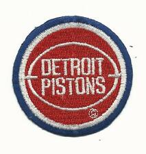"New Vintage NBA Detroit Pistons 2 1/4""  Round Iron On Patch"