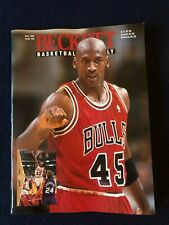 May 1995 Beckett Basketball Monthly Michael Jordan/Magic Johnson EX