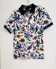 Polo Ralph Lauren Big Boys Bear Mesh Polo Shirt Bear-waiian Print Sz L - NWT