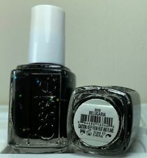 Essie Nail Polish * Belugaria #3019 * Black with Glitter * New Lacquer 0.46oz.