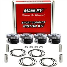 Manley Platinum Lightweight Piston Set for Subaru WRX STI EJ25 100mm Bore 8.5c/r
