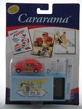 2005 Pepsi Cola Cararama Die Cast 1:72 Red Volkswagon with Metal Decorated Box