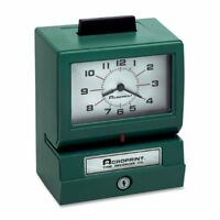 Acroprint 125nr4 Manual Print Time Recorder - Card Punch/stamp (ACP011070411)