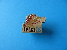 Tetra Tropical Fish Supplies pin badge, Enamel. (C)
