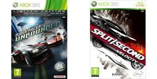 ridge racer unbounded & split / second velocity     xbox 360 pal