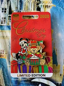 2020 Disney Parks Christmas Day Mickey Mouse Duffy LE 4500 Pin New
