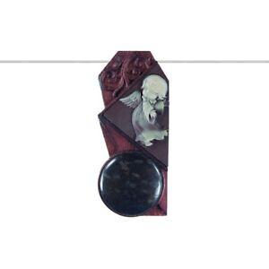 Carved Cherub WOOD MOP Designer Bead GM436013