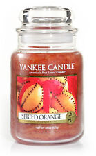 Yankee Candle Jar Glaskerze groß 623g Spiced orange