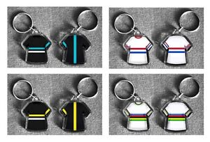 SKY Tour de France t-shirt/jersey keyring cycling Your own name and flag CUSTOM