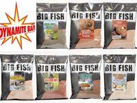 Dynamite Baits Big Fish Groundbait Caster - Krill - GLM - Margin Mix 1.8kg Bags