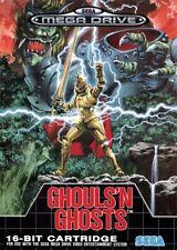 SEGA Mega Drive Spiel - Ghouls 'n Ghosts mit OVP