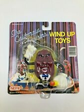Vintage California Raisin Wind Up Toy Singer W/Microphone 1987 Applause  [11]