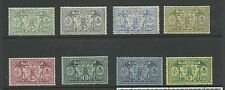 1911 Part set of 8 to 5s Mint Hinged Value Here